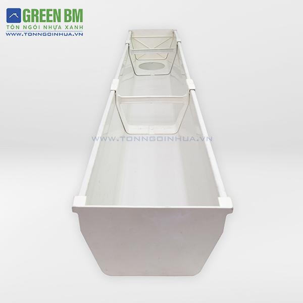 Máng xối nhựa PVC với nhiều phụ kiện dễ thi công tính thẩm mỹ cao