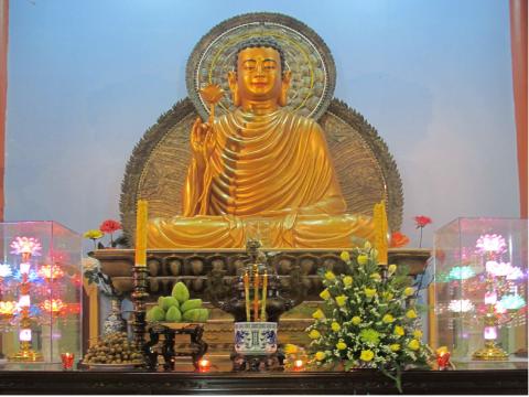 Green BM _ Đóng góp xây dựng chùa Thiền An
