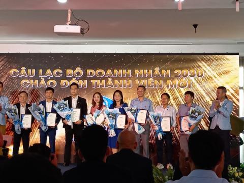 Lễ chào đón thành viên mới của CLB DN 2030
