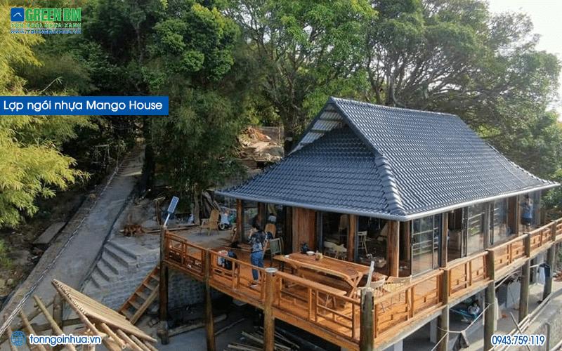 công trình ngói nhựa mango house
